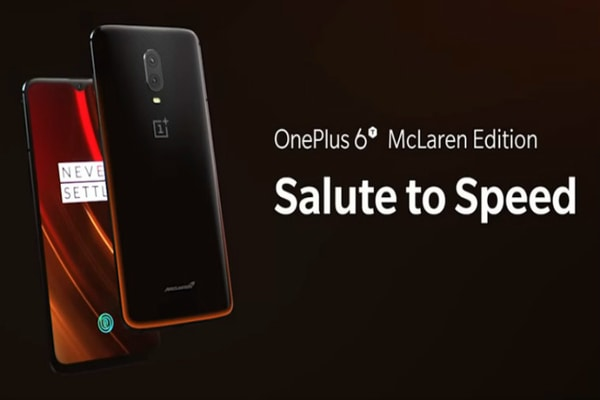 OnePlus 6T McLaren editionv