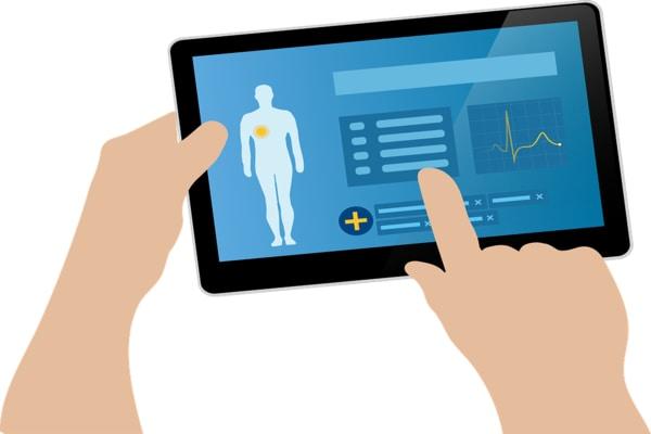 Online health consultation app