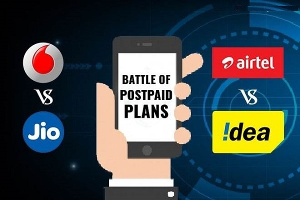 Jio, Airtel, Vodafone, Idea