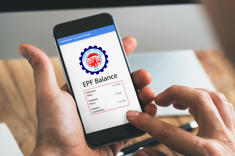 pf balance check online with uan