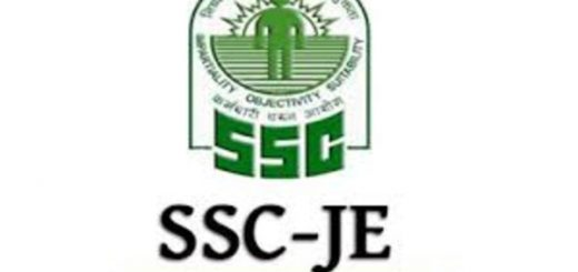 SSC JE Recruitment 2019
