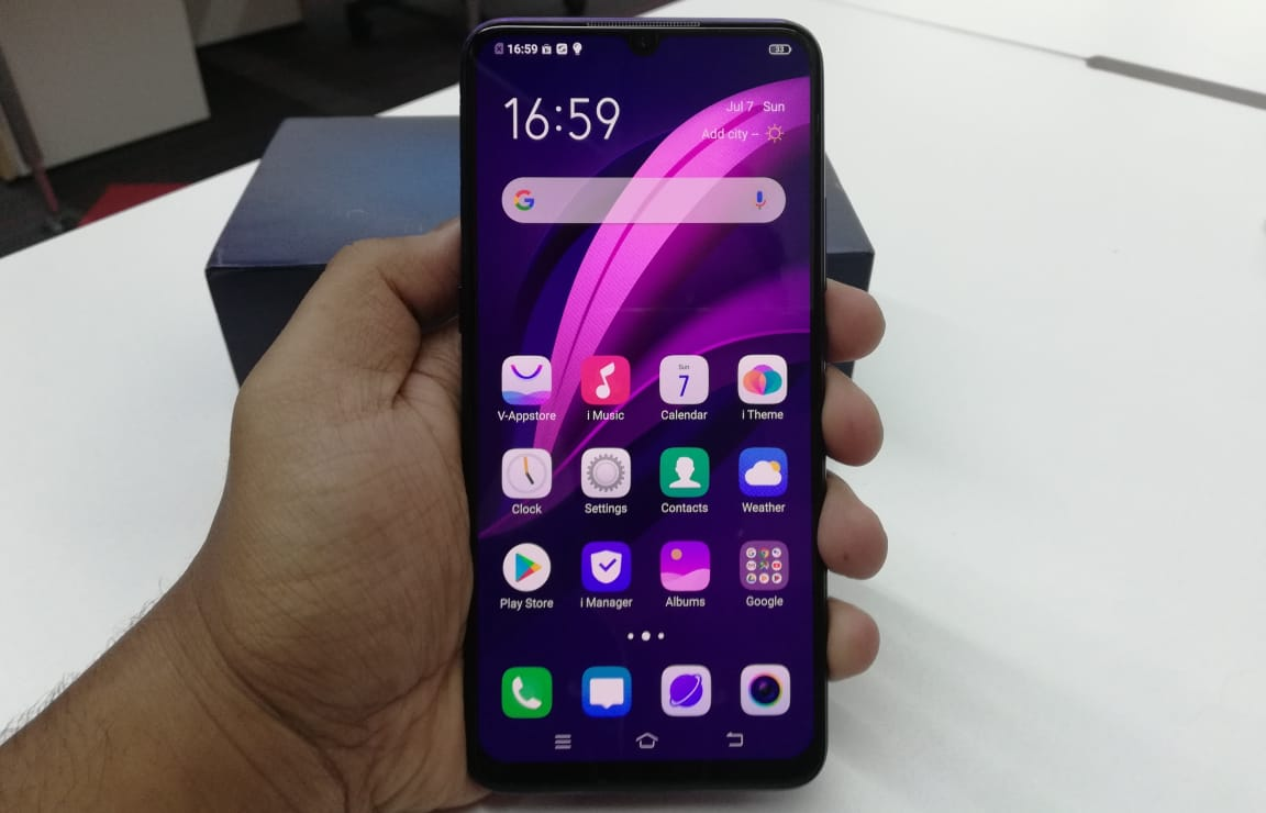 vivo z1x specifications