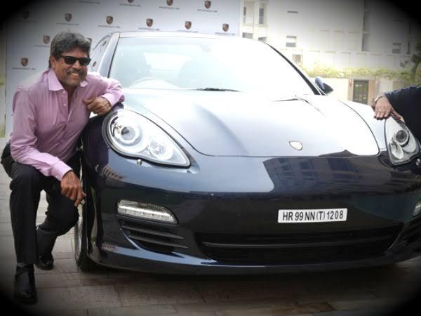 kapil dev's car