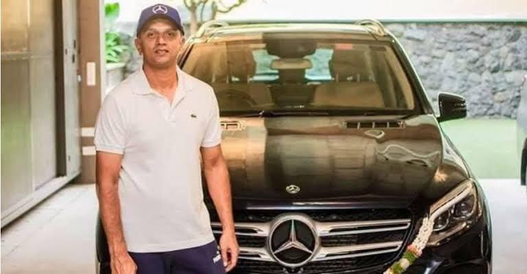 Rahul Dravid's car