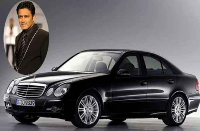 Anil Kumble's car