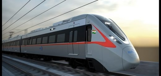 Centre unveils first RRTS train