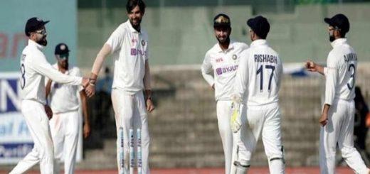 Ishant Sharma Felicitated by Amit Shah & President Ramnath Kovind